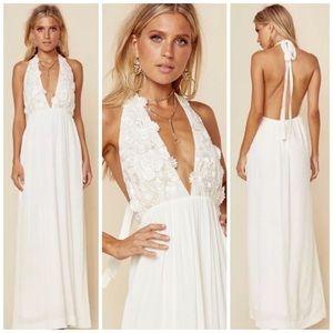 🍋For Love and Lemons Isabella Halter Dress